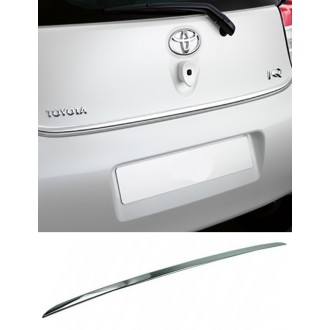 Toyota IQ - Chrom-Zierleiste Heckleiste 3M Tuning Chromleiste Heckklappe