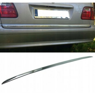 Mercedes C Klasa S202 Kombi - CHROME Rear Strip Trunk Tuning Lid 3M Boot