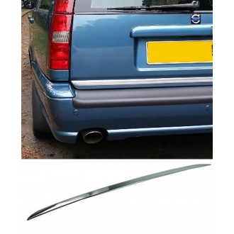Volvo V70 XC70 II - CHROME Rear Strip Trunk Tuning Lid 3M Boot