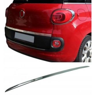 FIAT 500L - CHROME Rear Strip Trunk Tuning Lid 3M Boot
