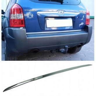 Hyundai TUCSON - CHROME Rear Strip Trunk Tuning Lid 3M Boot