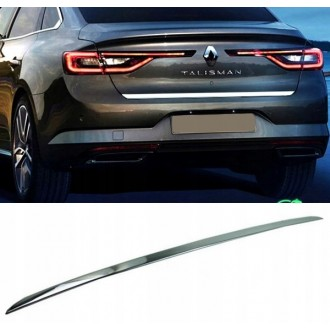 Renault Talisman Sedan - CHROME Rear Strip Trunk Tuning Lid 3M Boot