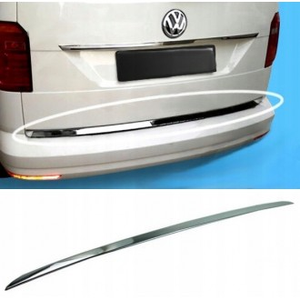 VW Volkswagen CADDY IV - CHROME Rear Strip Trunk Tuning Lid 3M Boot