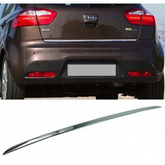 KIA RIO III HB - CHROME Rear Strip Trunk Tuning Lid 3M Boot