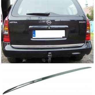 OPEL ASTRA MK IV G Kombi - CHROME Rear Strip Trunk Tuning Lid 3M Boot