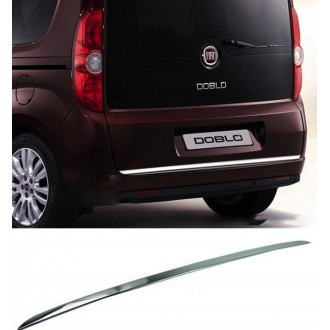 FIAT DOBLO III 263 - CHROME Rear Strip Trunk Tuning Lid 3M Boot