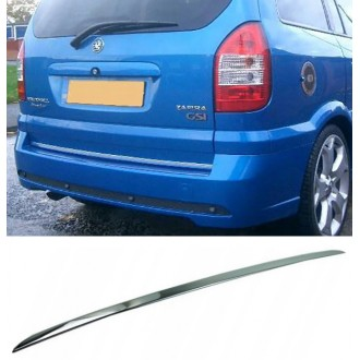 OPEL ZAFIRA A - CHROME Rear Strip Trunk Tuning Lid 3M Boot