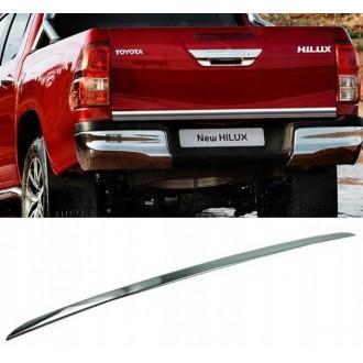 Toyota HILUX MK VIII - Chrom-Zierleiste Heckleiste 3M Tuning Chromleiste Heckklappe