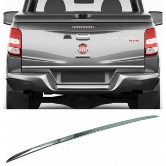 Fiat FULLBACK 2016 - CHROME Rear Strip Trunk Tuning Lid 3M Boot