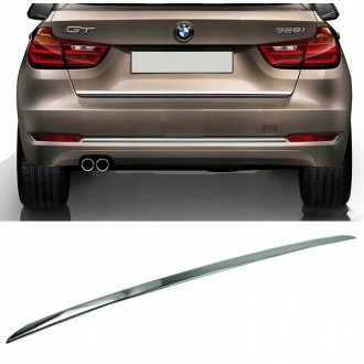 BMW 3 Gran Turismo F34 - CHROME Rear Strip Trunk Tuning Lid 3M Boot