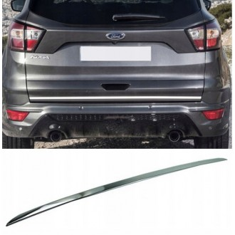 Ford KUGA III Lift - CHROME Rear Strip Trunk Tuning Lid 3M Boot