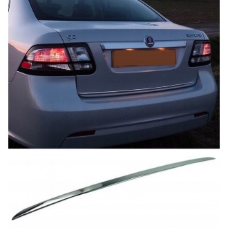 SAAB 9-3 II YS3F - CHROME Rear Strip Trunk Tuning Lid 3M Boot