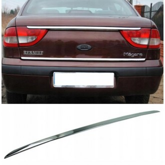 Renault MEGANE I - CHROME Rear Strip Trunk Tuning Lid 3M Boot