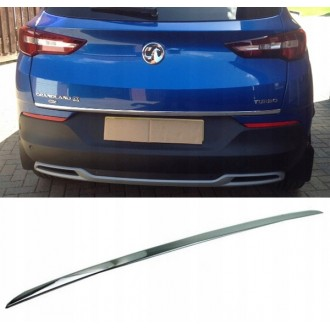 Opel GRANDLAND 2017 - CHROME Rear Strip Trunk Tuning Lid 3M Boot