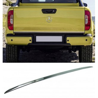 Mercedes X-Klasa Pick-up - CHROME Rear Strip Trunk Tuning Lid 3M Boot