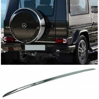 Mercedes G Klasa - CHROME Rear Strip Trunk Tuning Lid 3M Boot
