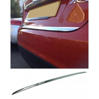 Mercedes CLA X117 Kombi 15 - CHROME Rear Strip Trunk Tuning Lid 3M Boot
