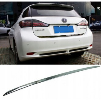 LEXUS CT 2010 - CHROME Rear Strip Trunk Tuning Lid 3M Boot