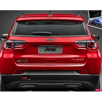 Jeep COMPASS II 16 - CHROME Rear Strip Trunk Tuning Lid 3M Boot