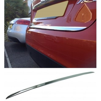Jaguar X-Type - Chrom-Zierleiste Heckleiste 3M Tuning Chromleiste Heckklappe