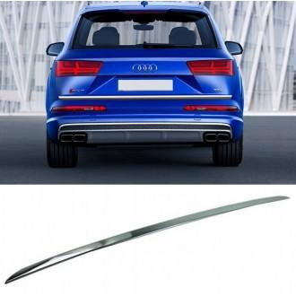 Audi Q7 4M 2015 - Chrom-Zierleiste Heckleiste 3M Tuning Chromleiste Heckklappe