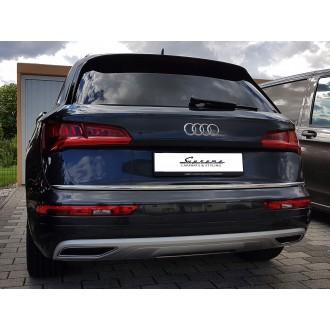 Audi Q5 FY 2016 - Chrom-Zierleiste Heckleiste 3M Tuning Chromleiste Heckklappe
