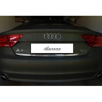 Audi A7 4GA 4GF - Chrom-Zierleiste Heckleiste 3M Tuning Chromleiste Heckklappe