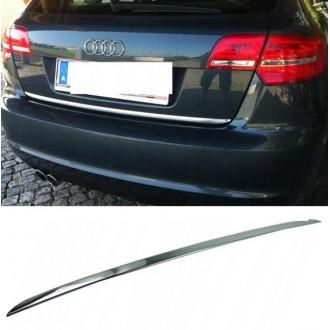 Audi A3 8PA Sportback - Chrom-Zierleiste Heckleiste 3M Tuning Chromleiste Heckklappe