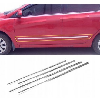Skoda SUPERB III HB - Chrome side door trim