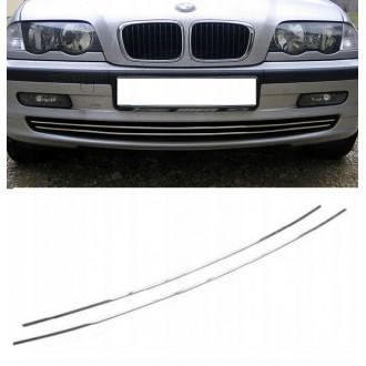 BMW 3 E46 98-01 - Chrom Kühlergrill 3M Tuning