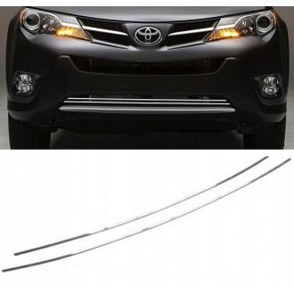Toyota RAV4 IV - Chrome Grille Kit 3M Tuning