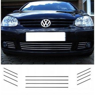 VW GOLF V 5 - Chrome Grille Kit 3M Tuning