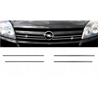 OPEL ASTRA H MK V - Chrome Grille Kit 3M Tuning