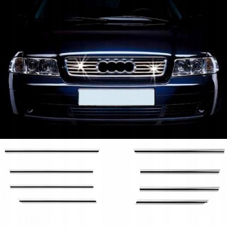 Audi A4 B5 - Chrome Grille Kit 3M Tuning