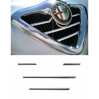 Alfa Romeo 166 - Chrome Grille Kit 3M Tuning