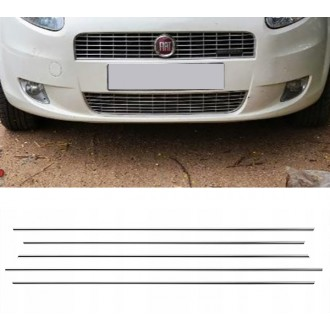 Fiat Grande Punto - Chrome Grille Kit 3M Tuning