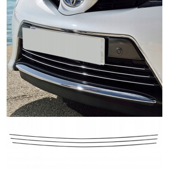 Toyota AURIS II FL - Chrome Grille Kit 3M Tuning