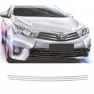Toyota COROLLA E16 - Chrome Grille Kit 3M Tuning