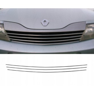 Renault LAGUNA II - Chrome Grille Kit 3M Tuning