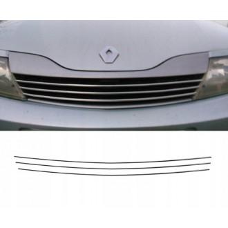 Renault LAGUNA II - Listwy CHROM Chromowane GRILL