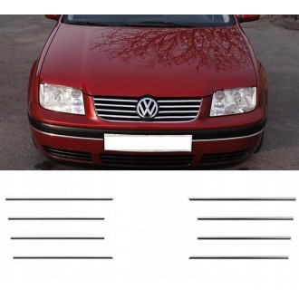 VW BORA 1J2 1J6 - Chrome Grille Kit 3M Tuning