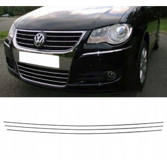 VW TOURAN Caddy 1T1 1T2 - Chrome Grille Kit 3M Tuning