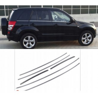 SUZUKI Grand Vitara - Chrome side door trim