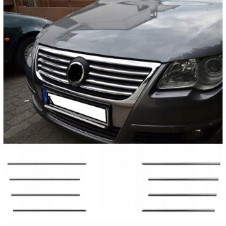 VW PASSAT B6 Grill - Chrome Grille Kit 3M Tuning