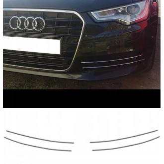 Audi A6 C7 - Chrome Grille Kit 3M Tuning