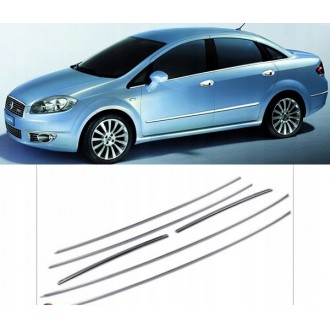 FIAT LINEA - Chrome side door trim