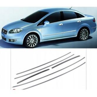 FIAT LINEA - Chrome Zierleisten Türleisten