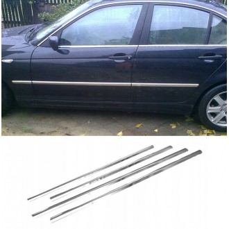 BMW E46 Hatchback Sedan - Chrome side door trim