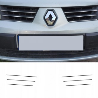 Renault SCENIC II - Chrome Grille Kit 3M Tuning