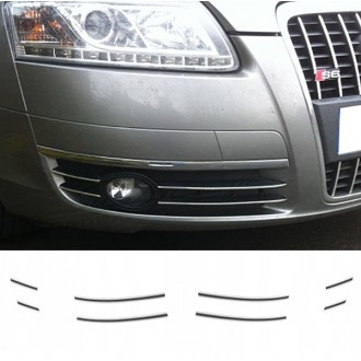 AUDI A6 C6 04-08 - Chrome Grille Kit 3M Tuning
